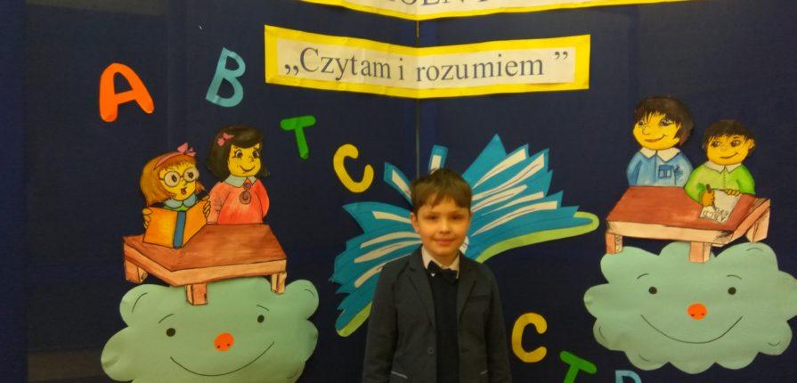 """Międzyszkolny konkurs """"Czytam i rozumiem"""""""