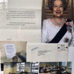 List od królowej